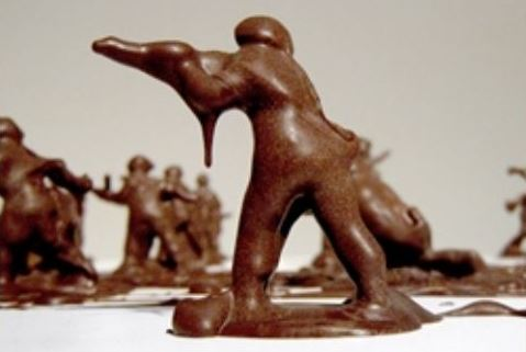 Chocolate Soldiers Art