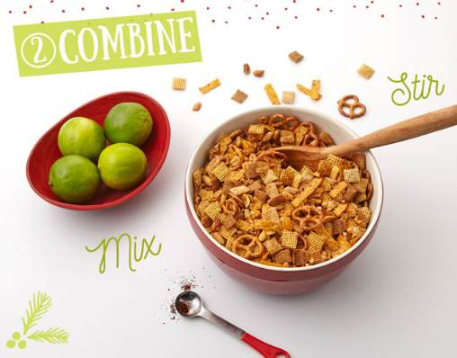 homemade tequila lime chex mix recipe