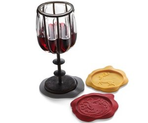 Game of Thrones Wax Seal Coasters houses party
