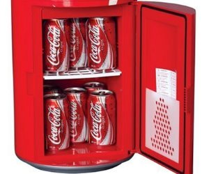 coca cola can shape fridge
