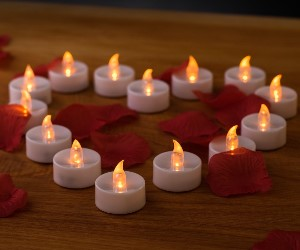 led candles tealights valentines decor valentines day
