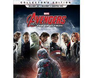 Marvel's Avengers: Age of Ultron BD Combo Pack DVD Blu-ray