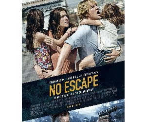 No Escape (2015) Movie HD DVD / Blu-ray