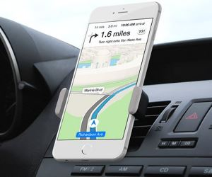 smartphone car mount navigation directions device