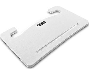 steering wheel desk tray white