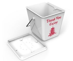 take out box compost bin food