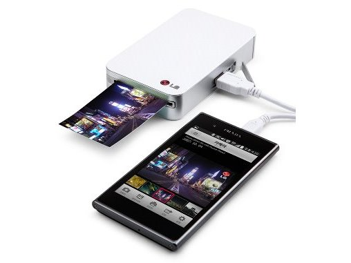 Android Smartphone Pocket Printer